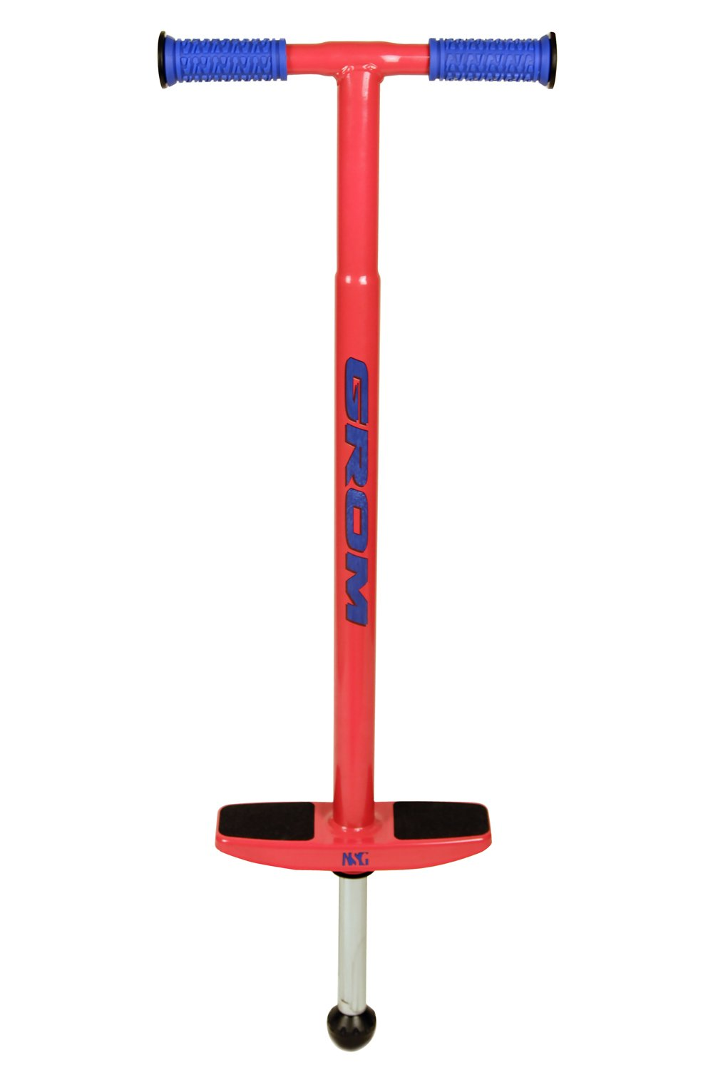 NSG Grom Pogo Stick - 5 to 9 Year Olds, 40-90 Pounds, Red by NSG