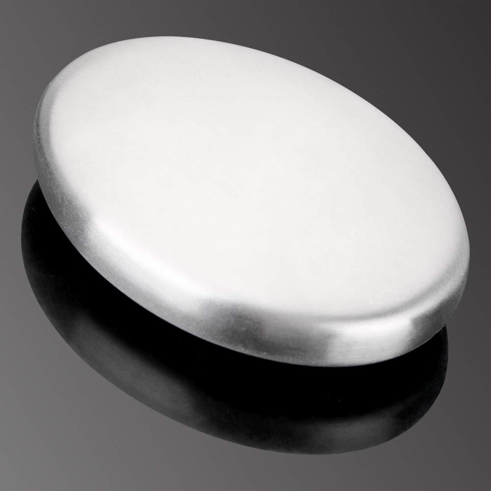 cebolla utensilio de cocina Jab/ón desodorizante removedor de olores de mano de acero inoxidable cocina herramienta pr/áctica para eliminar los olores de ajo