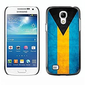 Shell-Star ( National Flag Series-Bahamas ) Snap On Hard Protective Case For Samsung Galaxy S4 MINI / i9190 / i9192