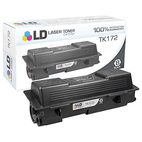 LD © Compatible Replacement for Kyocera-Mita TK172 Black Laser Toner Cartridge for use in Kyocera-Mita FS-1320D, FS-1370DN, Laser P2135d, and Laser P2135dn Printers by LD Products