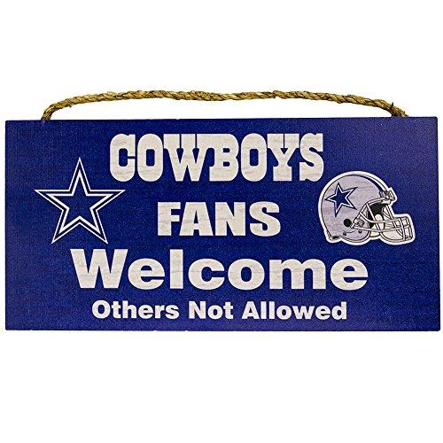 Dallas Cowboys Welcome Home Sign: Dallas Cowboys Man Cave Decor: Amazon.com