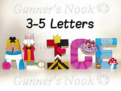 Alice In Wonderland Letters