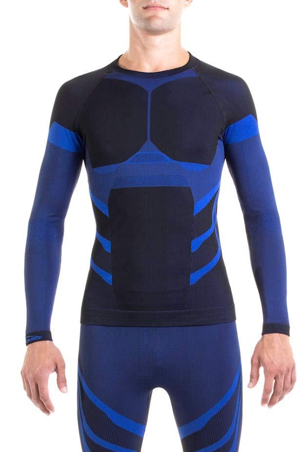XAED Skiunterwäsche Herren Funktionsshirt Lang Arm Seamless Shirt