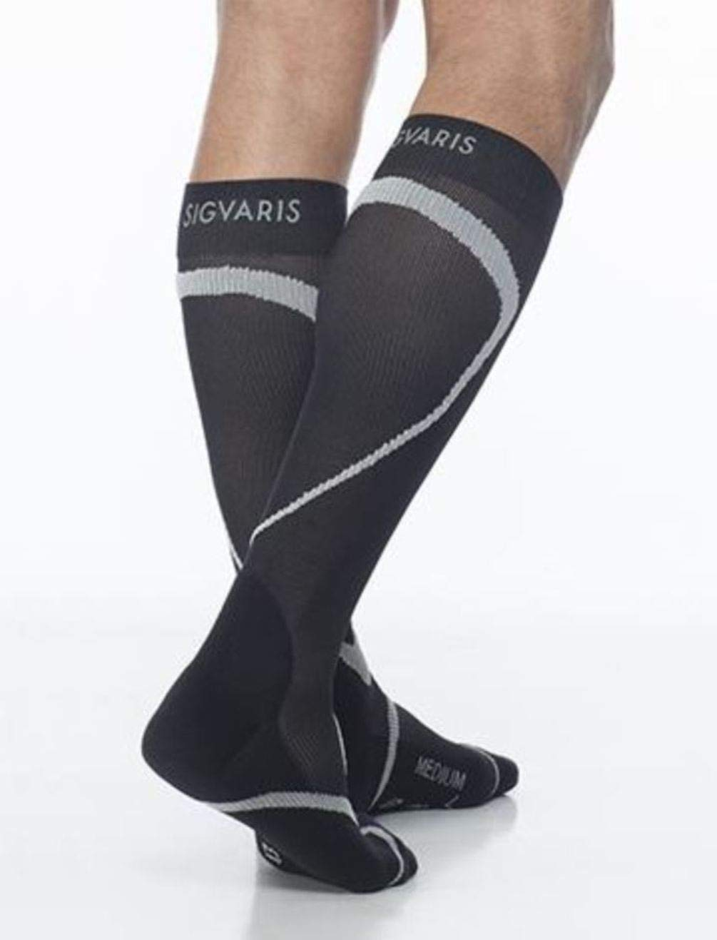 SIGVARIS Traverse Sock 412 Calf High Compression 20-30mmHg by SIGVARIS (Image #1)