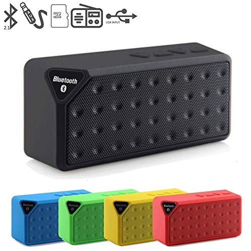 X3 Bluetooth Wireless Speaker Small Square Bluetooth Speaker Bluetooth Speaker Rubik's Cube subwoofer a Variety of Colors Available, Leave a Message Tell me The Color You Like