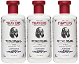 Thayers Alcohol-Free Toner, Lavender, Witch Hazel, 12-Ounces (Pack of 3)