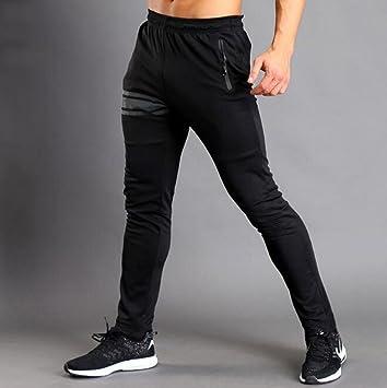WYFC Hombre Pantalones de Running Gimnasio, Correr & Yoga ...