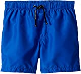 Dolce & Gabbana Kids Baby Boy's Mid Swim Boxer (Toddler/Little Kids) Blue Print 5