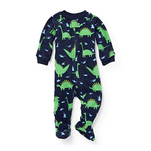 Dinosaur Sleepwear (The Children's Place Baby Dinosaur Blanket Sleeper, Tidal 91437, 3-6MONTHS)