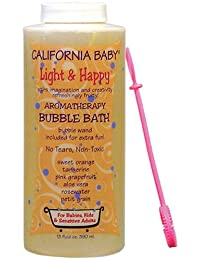 California Baby Bubble Bath - Light & Happy, 13 oz (Pack of 2) BOBEBE Online Baby Store From New York to Miami and Los Angeles