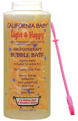 California Baby Bubble Bath - Light & Happy, 13 oz (Pack of ()