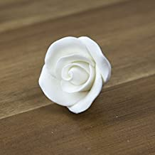 Rose, Premium White, Unwired, Small 32 Count by Chef Alan Tetreault