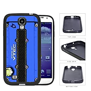 JDM Series Rubber Silicone Phone Case Cover Samsung Galaxy s4 sIV I9500 (Blue) by lolosakes