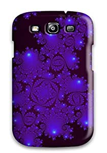 High Quality Shock Absorbing Case For Galaxy S3-fractal Abstract Other