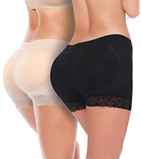 6c7f0bb725f MISS MOLY Body Shaper Panty Padded Pad Butt Lifter Booty Hip Enhancer  Shapewear