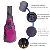 HDE Nintendo Switch Backpack Gamer Elite Crossbody Travel Bag Holds Console Games Joy-Cons and More (Hot Pink)