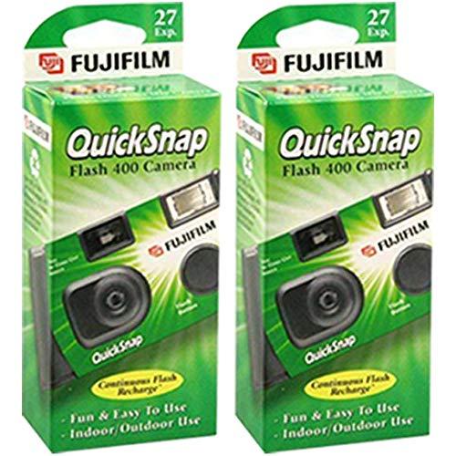 🥇 Fujifilm Quicksnap Flash 400desechables 35mm cámara