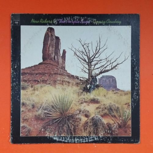 NEW RIDERS OF THE PURPLE SAGE Gypsy Cowboy KC 31930 LP Vinyl VG+ Cover VG (New Riders Of The Purple Sage Gypsy Cowboy)