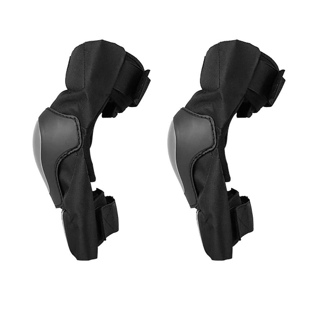 xluckx 2PCS Rodilleras de Moto Rodilleras de Protecció n para la Rodilla Almohadillas de Leggings para Montar