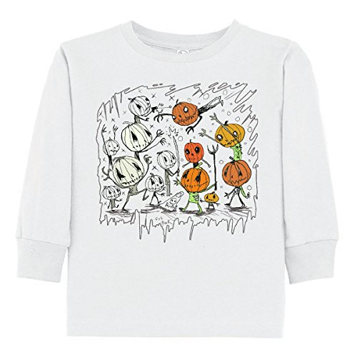 inktastic Toddler Long Sleeve T-Shirt 4T White - Gus Fink Studios 2e213