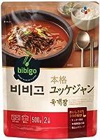 bibigo 韓飯 ユッケジャン【メーカー直送・正規品】 | 新大久保 韓国 500gX5個セット bibigo ビビゴ