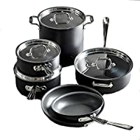 All-Clad 10-Piece Hard Anodized Nonstick Cookware Set (Second Quality)