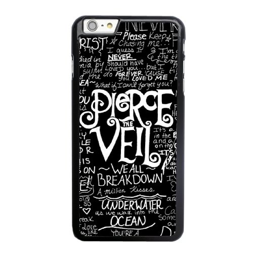 Coque,Apple Coque iphone 6 6S (4.7 pouce) Case Coque, Generic Pop Pierce The Veil Cover Case Cover for Coque iphone 6 6S (4.7 pouce) Noir Hard Plastic Phone Case Cover
