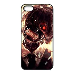 Funny Tokyo Ghoul with Mask Custom Design Apple Iphone 5 5s Hard Case Cover phone Cases Covers