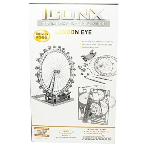 Fascinations ICONX London Eye Ferris Wheel 3D Metal Model Kit 70%OFF