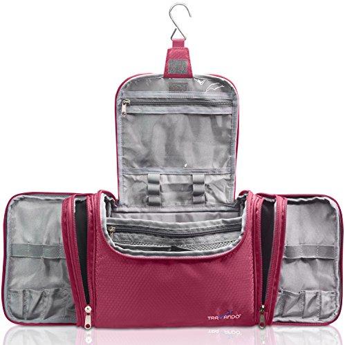 Lavievert Toiletry Bag   Makeup Organizer   Cosmetic Bag   Portable ... b6483875519e3