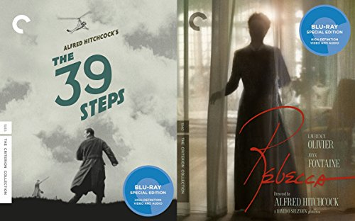 Alfred Hitchcock Criterion Collection - The 39 Steps & Rebecca (2-Disc Set) 2-Blu-ray Bundle