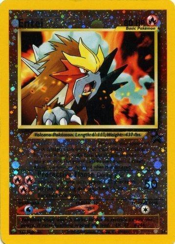- Pokemon Card - Black Star Promo #34 - ENTEI (holo-foil)
