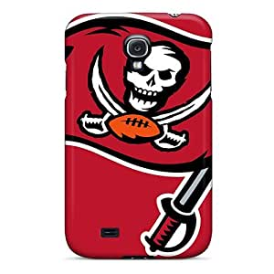 High Grade Rewens Flexible Tpu Case For Galaxy S4 - Tampa Bay Buccaneers