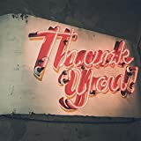 Thank You Neon Sign Peel and Stick Wall Mural