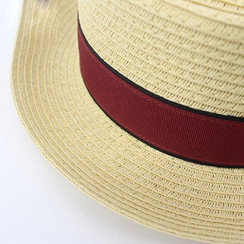 Sombrero Caballero de Hombres Sombrero Reunión béisbol Paja Playa Fiesta en Gorras LHA Fiesta de la Sombrero de de los Yx8wBPzq