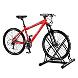 RAD Cycle Products Mighty Rack Two Bike Floor Stand Bicycle Instant Park Bike Rack Cycle Stand - Pro-Quality! (2 Pack)