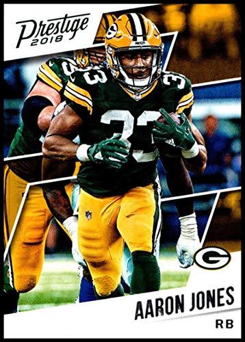 2018 Prestige NFL #140 Aaron Jones Green Bay Packers Panini Football Card