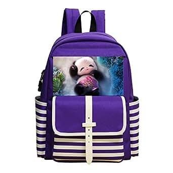 Children School Backpack Cute animals Kids Student Bookbag