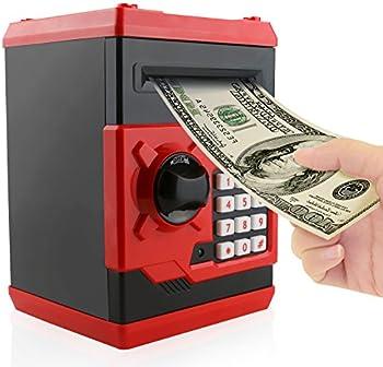 Jhua Bank Password Electronic Money Bank Safe Piggy Box
