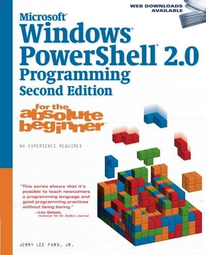 Microsoft  Windows PowerShell 2.0 Programming for the Absolu