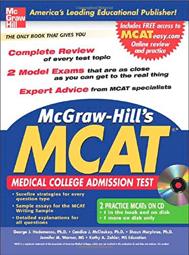 McGraw-Hill's New MCAT with CD-Rom (McGraw-Hill's MCAT (W/CD))