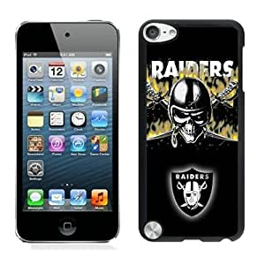 NFL Oakland Raiders iPod Touch 5 Case YMH91246 NFL Custom Phone Case For Men
