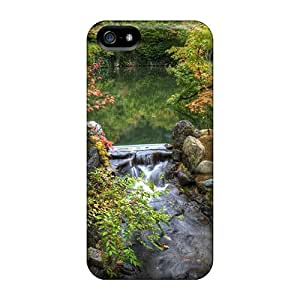 For Our Melody Iphone Protective Case, High Quality For Iphone 5/5s Peaceful Park Skin Case Cover