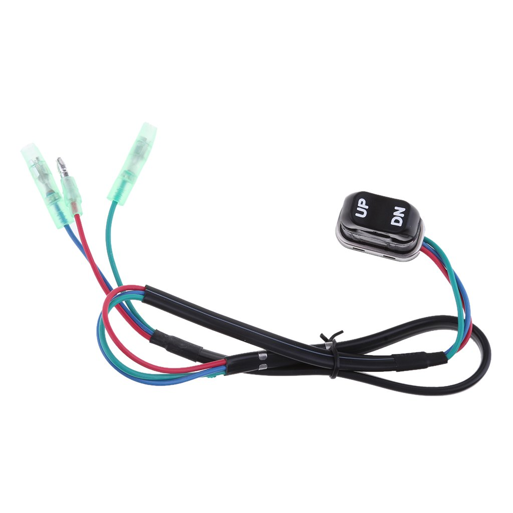 Homyl 2 Pcs 703-82563-02-00 703-82563-01-00 TRIM /& TILT switch A for Yamaha Outboard Motors