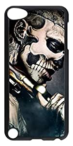 DIY PC Protective Case Cover for iPod Touch 5 5th,Skeleton Man Transparent Hard Plastic Back Shell Skin for iPod Touch 5 5th Kimberly Kurzendoerfer