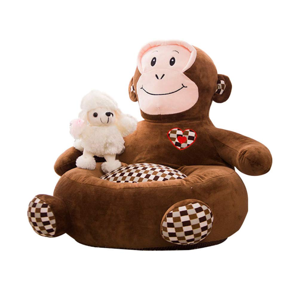 Brown WWSSXX Dog Beds Warm Princess Puppy Bed Soft Pp Cotton Padded Dog Sofa Bed