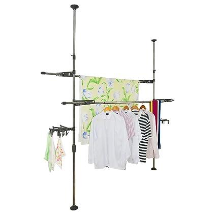 Baoyouni Estante de la ropa interior ajustable capa DIY ...