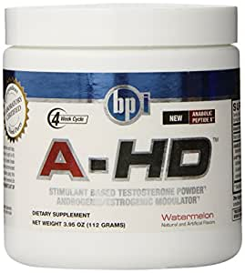 BPI Sports A-HD Diet Supplement, Watermelon, 3.95 ounces