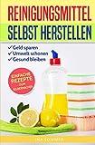 REINIGUNGSMITTEL SELBST HERSTELLEN: DIY Putzmittel einfach selber machen (Reinigungsmittel selber machen, Band 1)