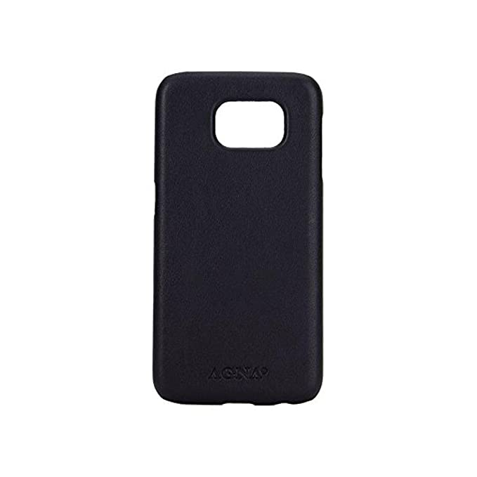 Agna Leather iPlate Leather Case Black For Samsung  Amazon.co.uk   Electronics 208cf83be97a1